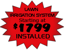 Irrigation Installation Sale